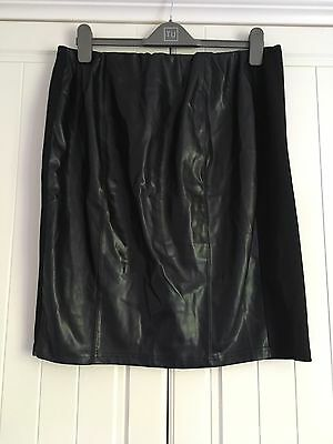 Ladies Black Maternity Skirt New Look Size 16
