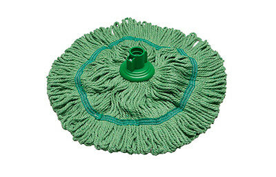 Vikan SB53 Super Hygiene Socket Mop Head 200g Green or Yellow BIOFRESH