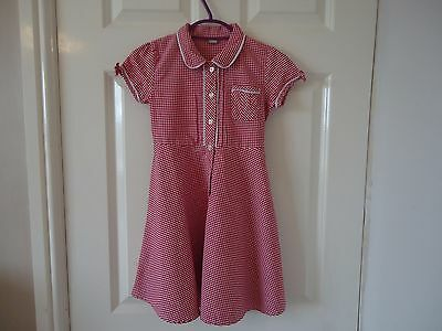 Girls TU Summer School Dress Age 6yrs VGC