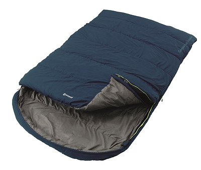 2017 Outwell Campion Lux Double Sleeping Bag Blue *New Colour for 2017*