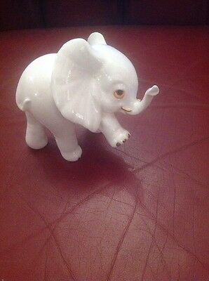 Vintage Royal Osborne Bone China Elephant No. TMR 3772