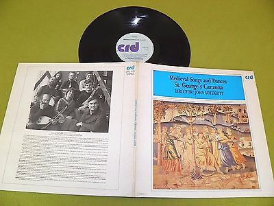 St. George's Canzona - Medieval Songs And Dances / John Sothcott - UK STEREO NM