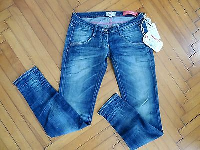 Jeans MET Schiffer pantalone pants blue marca nuovo Italy tg. 26
