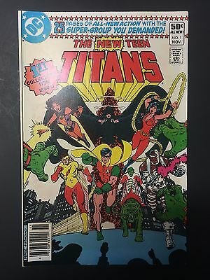 The New Teen Titans - 8 comic Lot - DC Bronze Age Classic - #1 included!!!