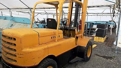 Hyster Forklift Unknown Year (1968 - 1970) and Model (H80C) SOLD AS IS