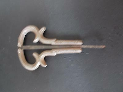 Antique Vtg Jews Harp Mouth Jaw Organ Stamped England c1900 Victorian Edwardian