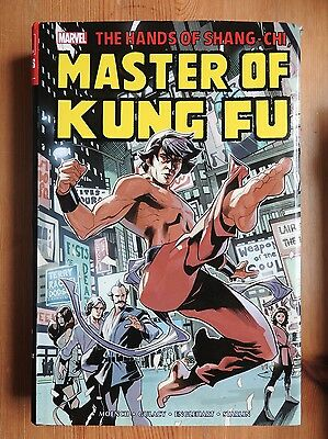 Hands of Shang-Chi - Master of Kung Fu Omnibus Volume 1 HB (2016) first print