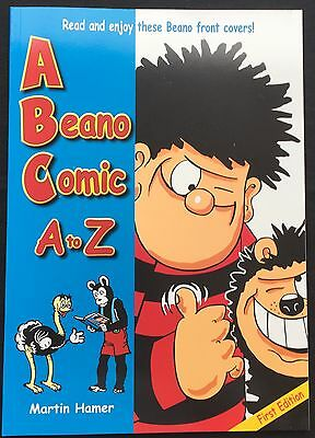 A Beano Comic A to Z PERSONAL BIRTHDAY DEDICATION by Author