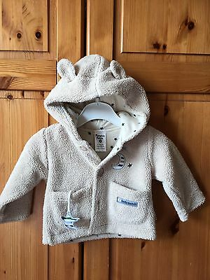 Baby Boys Hooded Cosy Top by Pumpkin Patch 0-3 months