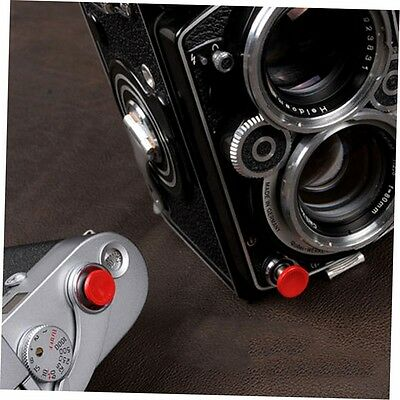 1Pcs Red Metal Soft Shutter Release Button for Fujifilm X100 SLR Camera MX