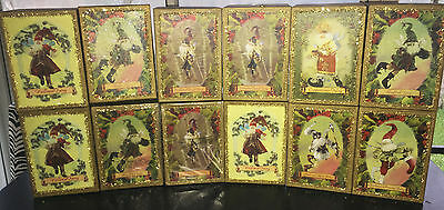 Lot of 12 Mark Roberts 2007 Collectible Fairy Christmas Holiday Ornaments