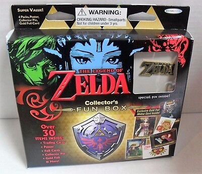 Enterplay The Legend Of Zelda Collector's Fun Box 4 Packs-Pin-Poster-Foil #1