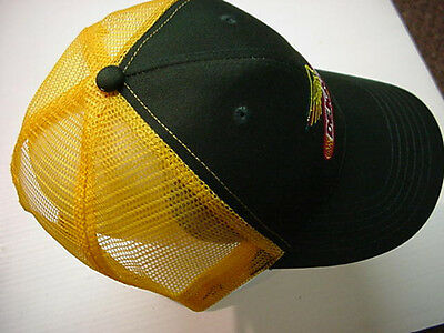 """Dekalb Seed Hat Cap -2/3Rds Mesh, Front Solid Panel 'supported"""" Free Shipping"""