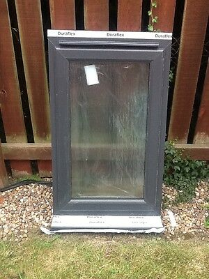 upvc double glazed windows anthracite grey