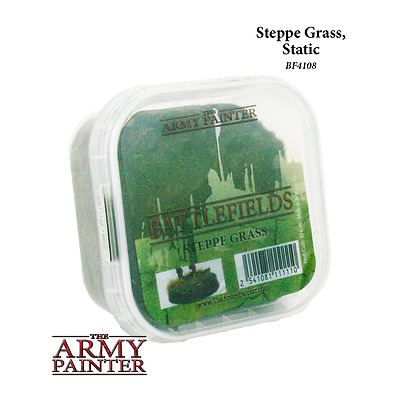 The Army Painter BATTLEFIELDS STEPPE GRASS - Terreno per modellismo BF4108
