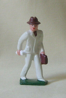 Traveling Man in Business Suit, Standard or G scale train figure, Reproduction
