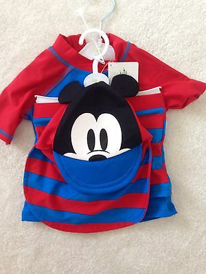 Baby 12-18 Months 3 Piece Swimsuit New!