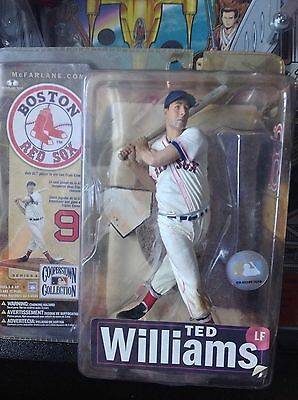 figurine baseball ted williams. mcfarlane