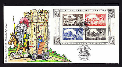 2005 GB Great Britain Phil Stamp First Day Cover FDC Castles Definitives 77/100