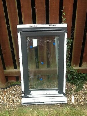 upvc double glazed windows anthracite grey 4 items