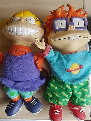 RUGRATS angelica and chuckie dolls