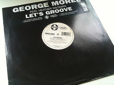 "George Morel - Lets Groove - Sought After House Garage 12"" Vinyl Record Dj"