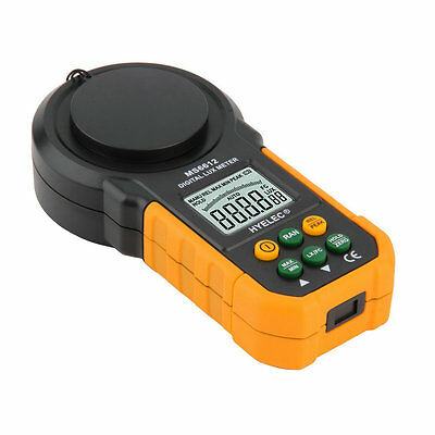 MS6612 Digital Luxmeter 200,000 Lux Light Meter Test Spectra Auto Range MX