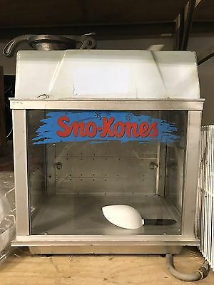 Gold Medal Sno Cone Machine 1002 Display #5104 Commercial Shaved Ice Table Top