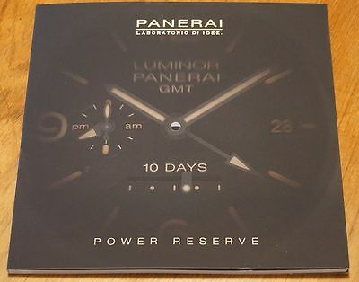 2016 Panerai 3 7 8 10 Day Power Reserve Watch Brochure Catalogue 45 Pages