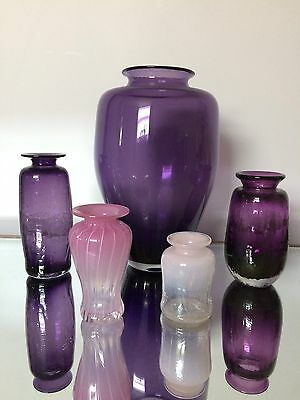 Thorn Glass Vases Canada Signed CLEARANCE SALE!!!