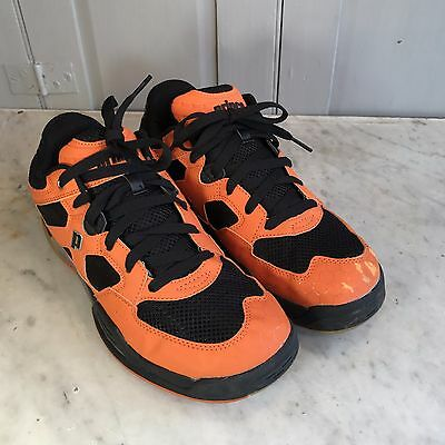 Prince NFS Attack mens orange black indoor sports squash shoes trainers UK 8.5