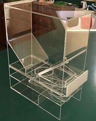"""Cereal Dispenser  Portion Control   7""""W x 15.5""""D x 20""""H      Cal- Mil"""