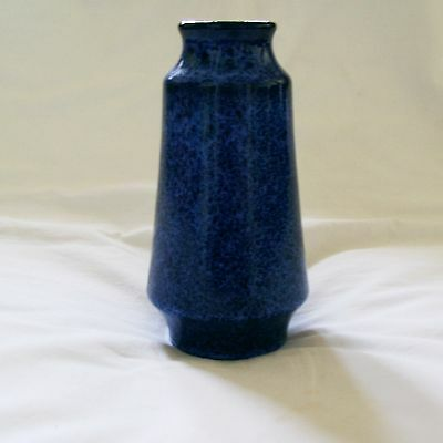 Marzi & Remy West German Speckle Glaze Art Pottery Vase