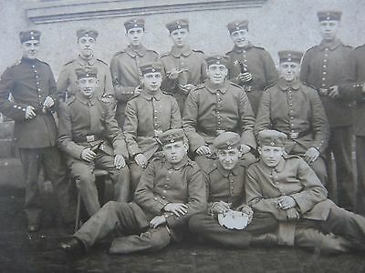 Group of Very Young German Soldiers in 1916`Original WW1 Photograph/Feldpost