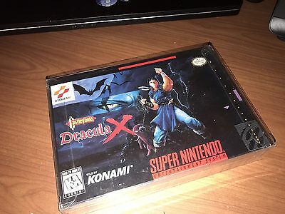 Brand New Factory Sealed Castlevania: Dracula X Super Nintendo SNES