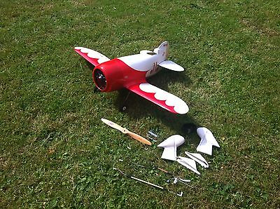 Gee Bee 1/6 Minicraft Aircraft Rc Model Plane