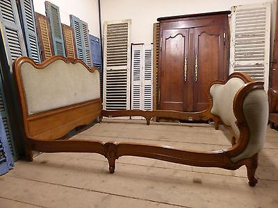 Vintage French King Size Bed - Great Quality Frame - g38