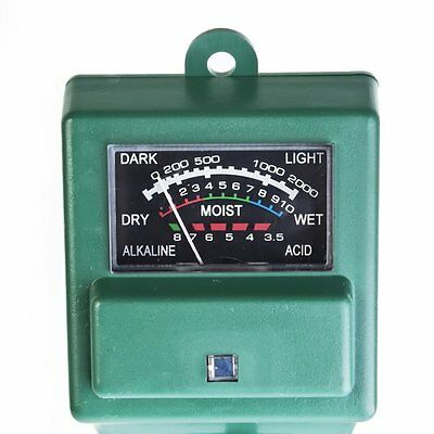 3 in1 PH Tester Soil Water Moisture Light Test Meter for Garden Plant Flower MX
