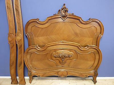 Impressive Antique Double French Bed - g191
