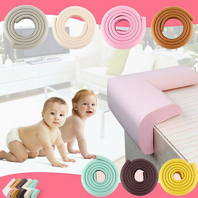 Kids Safety 2M Infant Desk Table Edge Guard Protector Foam Strip Cushion Bump MX