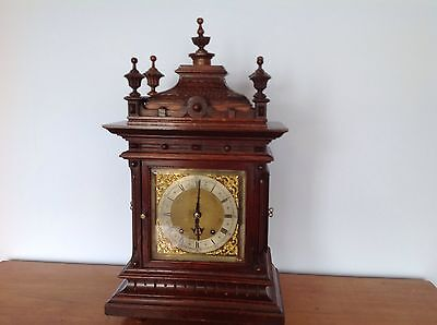 Lovely Ting Tang Bracket Clock Klyser &Co Boro London Circa 1850.