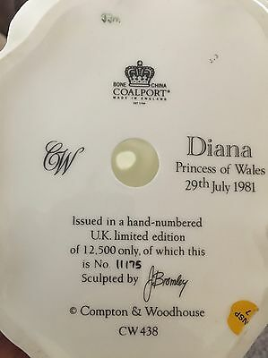 Princes Diana Limited Edition Figurine