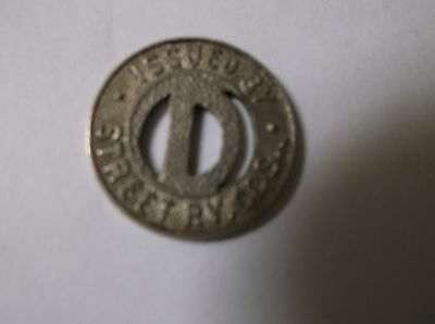Ohio Dayton one fare Street RY Token