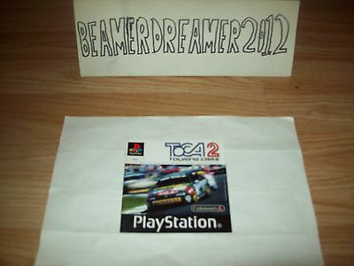 Playstation 1,ps1,toca 2 Touring Cars,instruction Manual Only,please Read Add.