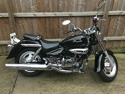 Hyosung GV250 AQUILA custom only 4,621 miles Excellent Condition