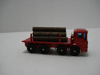 Matchbox Pipe Truck #10-D Made In England 1966