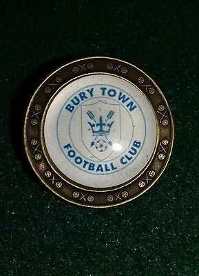 Bury Town F C Golf Ball Marker