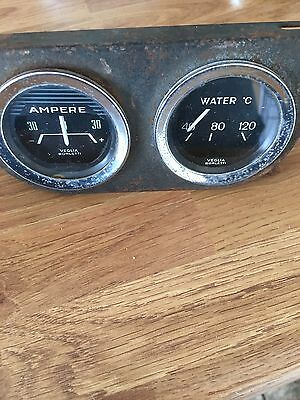 veglia borletti Amperes And Water Temp Gauges