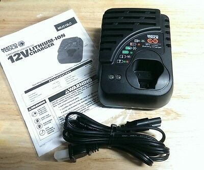 Matco Infinium Cordless Tools Universal 10.8v 12v Peg Battery Charger Like NEW