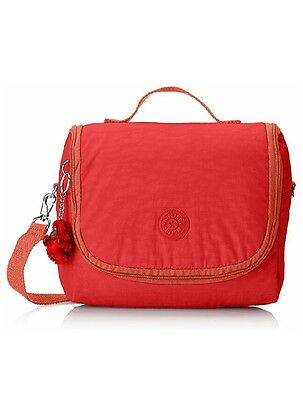 Kipling New Kichirou lunch bag with trolley sleeve Happy red mix C New